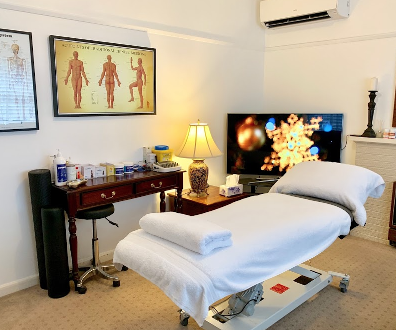 Acupuncture Treatment room in geelong